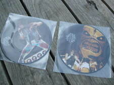 "IRON MAIDEN 1980'S ""talking to IM"" UK INTRVW DOUBLE 7"" PICTURE DISC SET NEW/MINT"