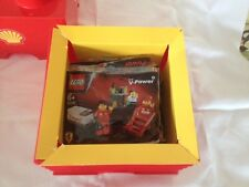 Lego Shell Ferrari Promo Box Set-all 7 polybags/promo USB drive * ultra rare *