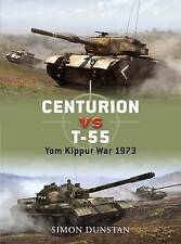 Osprey Duel 21 Centurian v T-55 Tanks Yom Kippur War 1973 illustrated 2009 vgc