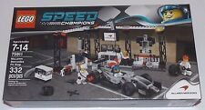 LEGO Speed Champions McLAREN MERCEDES PIT STOP 75911 exclusive authentic garage