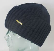 STETSON knit cap NORTHPORT Cap Woolen Hat Winter hat Blue New