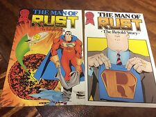 Man of RUST#1 (Blackthorne/091465) comic book collection lot of 2