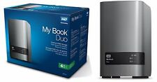 WD 4TB My Book Duo Desktop RAID External Hard Drive - USB 3.0 - WDBLWE0040J