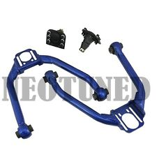 BLUE FIT 350Z Z33 G35 FRONT UPPER CAMBER ADJUSTABLE CONTROL ALIGNMENT SUSPENSION