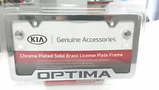 Kia Optima Chrome License Plate Frame UR010-AY100MG OEM 50 State Certified!