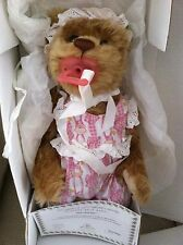 Lee Middleton Hush-a-Bear Baby..Certificate..Brand New in Box