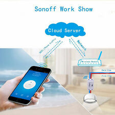 Sonoff - ITEAD WiFi Wireless Smart Switch Module ABS Shell Socket for Home use