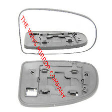 TOYOTA PRIUS 2010- 2015 RH SIDE DOOR MIRROR GLASS SILVER ASPHERIC,HEATED&BASE