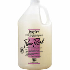 Pure Pearl Shampoo Professional Dog and Cat Concentrate Gallon Dilutes 20 to 1