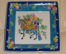 "Hutschenreuther Horse Decorative Dish Tray Designed by Leonard Paris 8"" X 8"""