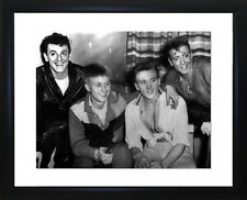 Gene Vincent Joe Brown Billy Fury and Eddie Cochran Framed Photo CP1508