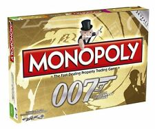 Monopoly 50th Anniversary Edition James Bond Games