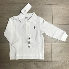 Bnwt garçons 6m ralph lauren longsleve polo & lots vêtements 100% authentique