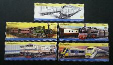 Malaysia Train 2010 Railway Locomotive Transport KTM Vehicle (stamp) MNH