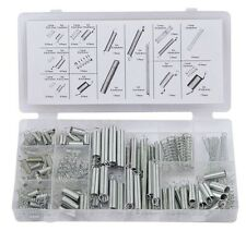 Rolson 150pc Assorted Springs Extension Tension Compression Extended Compressed