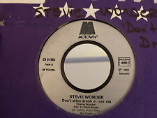 STEVIE WONDER Don't drive drunk / zb 61564 Promo ???