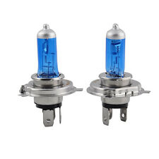 2X H4/HB2 9003 XENON ULTRA WHITE 12V 100W 6000K BRIGHT HALOGEN HEADLIGHT BULB