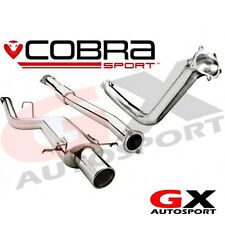 SB32c Cobra Subaru Impreza WRX STI 01-05 Road Turbo Back Exhaust DeCat Res