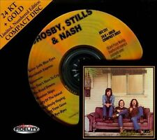 CROSBY STILLS & NASH 24KT GOLD CD AUDIO FIDELITY NUMBERED LIMITED SEALED
