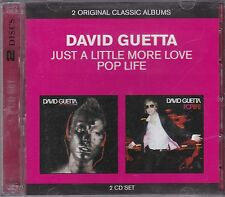 DAVID GUETTA - JUST A LITTLE MORE LOVE and POP LIFE on 2 CD's -