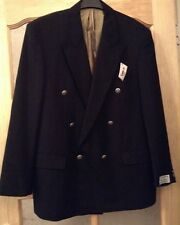 "BNWT  "" JAMES BARRY "" Size 44 DINNER BLACK WOOL SUIT JACKET DOUBLE BREASTED NEW"