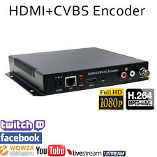 HDMI Composite CVBS Encoder Youtube Twitch Ustream LiveStream Live Broadcast