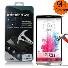9H Wholesale Premium Real Hard Tempered Glass Screen Protector Film For LG G3