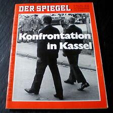 Der Spiegel 22/70 Titelbild: Kasseler Treffen, KASSETTEN-TV, WELTCUP-RALLYE