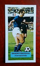 ITALIA-INTER-SANDRO MAZZOLA-punteggio UK FOOTBALL TRADE card