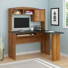 L-Shaped Workstation Desk Computer Modern Home Office Furniture Student NEW