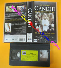 VHS film GANDHI Ben Kingsley Richard Attenborough COLUMBIA CC 01352(F112) no dvd