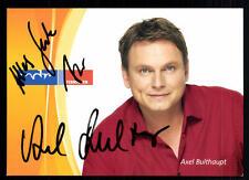 Axel Bulthaupt MDR Autogrammkarte Original Signiert ## BC 17327
