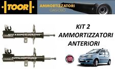 2 AMMORTIZZATORI ANTERIORI FIAT PANDA (169) 1.2 GPL NATURAL POWER (2003 2013)