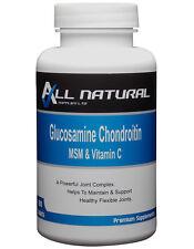Glucosamine Chondroitin MSM and Vitamin C 180 FREE P&P