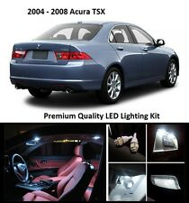 2004 - 2008 Acura TSX Premium White LED Interior Package (12 Pieces)