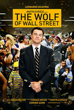 24X36Inch Art THE WOLF OF WALL STREET Movie POSTER Leonardo DiCaprio Martin P53