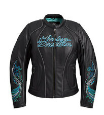 Harley-Davidson Womens Carousel Leather Jacket  Size L NWT
