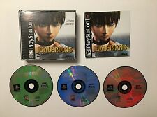 PS1 Galerians (Sony PlayStation 1) Complete Good Condition Works on PS2 and PS3