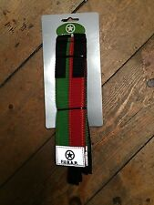 Fast Straps for Fixed Gear,or Mountain Bike RED/GREEN. Blow Out Sale