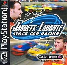 Jarret And Labonte Stock Car Racing - PS1 PS2  Complete