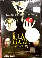 Liar Game: The Final Stage (Film) ~ DVD ~ English Subtitle ~ Japan Movie
