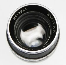 Kern 25mm f1.4 Switar AR C mount  #12295
