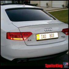 COMBO Spoilers (Fits: Audi A5 / S5 2008-on 2d coupe) Rear Roof Wing & Trunk Lip