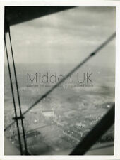 RA057 Original Old PHOTOGRAPH - View from World War One Biplane