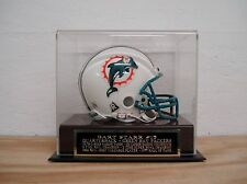 Display Case For Your Bart Starr Packers Autographed Football Mini Helmet