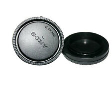 Rear Lens Cover and Camera Body Cap Set for Sony E Mount NEX Mirrorless Camera