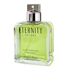 ETERNITY by Calvin Klein 3.4 oz EDT eau de toilette Men Spray Cologne Tester 3.3