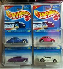 1994 Hot Wheels Pearl Driver Series Set 1-4 in Protective Case