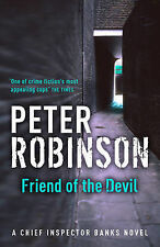 Peter Robinson SIGNED Friend of the Devil UKHC 1st Edn