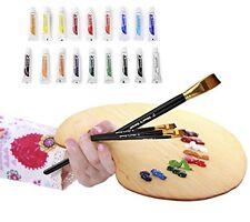 ACRYLIC PAINT SET - 18 x 12mL Professional Quality Acrylic Painting Kit -